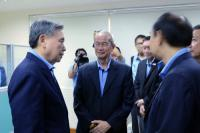 Picture of Finance Minister Visited Vientiane Representative Office