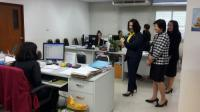 Picture of MOF Inspector General on Duty at the Bangkok Area Revenue Office 12 and 15